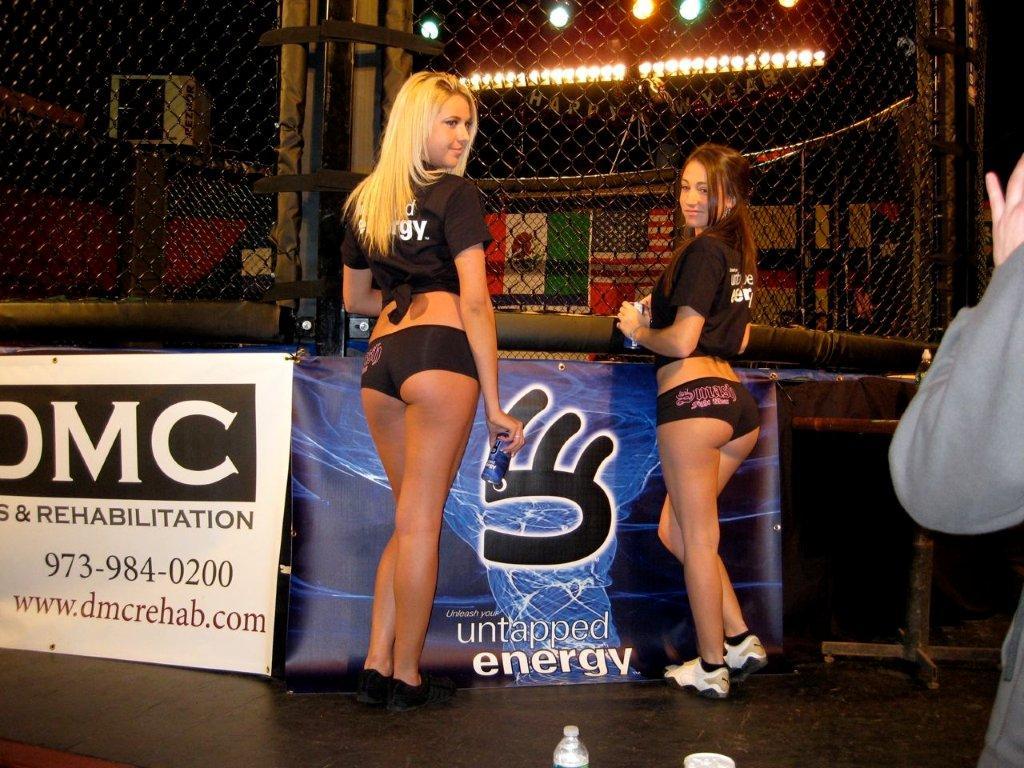 MMA1 ring girls back