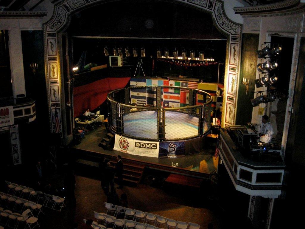 MMA1 ring high